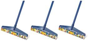 Total Solution Plastic Home Floor + Bathroom Floor + Kitchen Floor Wiper, Standard, -Set Of 3