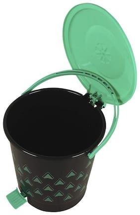 Total Solution Plastic 7 liter Dustbin (Set of 1)