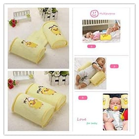 Toys Factory Baby Toddler Comfortable Anti Roll Pillow Safe Cotton Sleep Head Positioner
