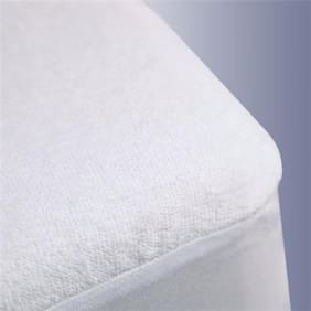 "Trance Home Linen Waterproof Mattress Protector Small 75""x60"""