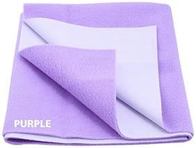 Trance Home Linen Baby Dry Sheet Large Purple