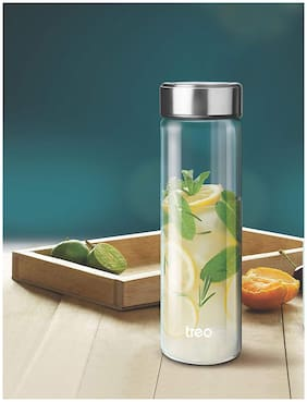 Treo Glass Multi Water Bottle ( 740 ml , Set of 1 )