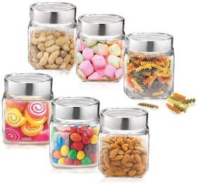 Treo Cube Jar 580 ml 6 pcs Set