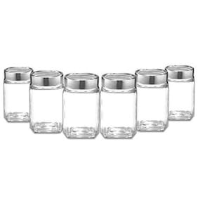 Treo Cube Jar Set, 310ml, 6 Pieces