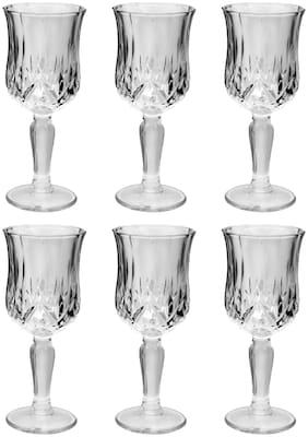 Treo Vitro Stemware Glass Set of 6, 195 ml