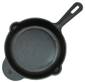 Trilonium Hulkette Pre-Seasoned Cast Iron Fry Pan | Skillet 20cm