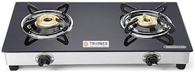 TRIONES 2 Burner Regular Black Gas Stove ,