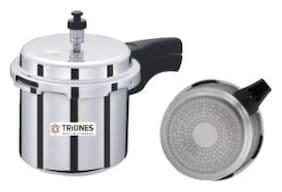 Triones Aluminum Pressure Cooker 3 Ltr IB