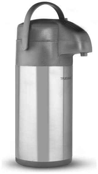 Trueware Thermoware Flask Set of 1 ( Silver , Stainless Steel ,  2000 ml )