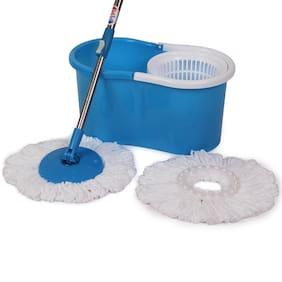 Trueware Plastic Bucket Smart Mop (Blue)