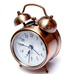 Tryviz Copper Alarm Clock