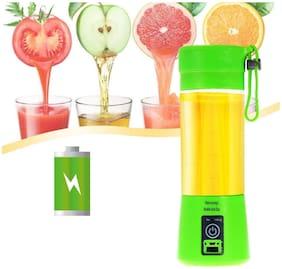TSV Portable USB Juicer Bottle Blender (Multicolour)