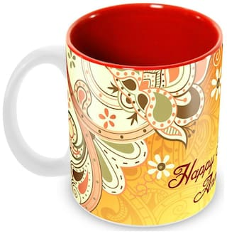 Buy Tuelip Happy Marriage Anniversary Wishes Inner Red