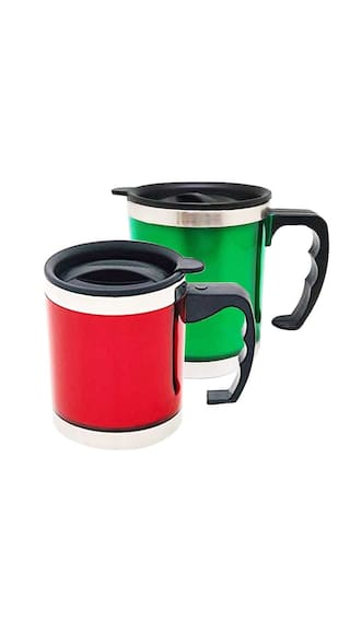 Buy Tuelip Combo Of Two Stainless Steel Insulated Coffee Mug And Tea
