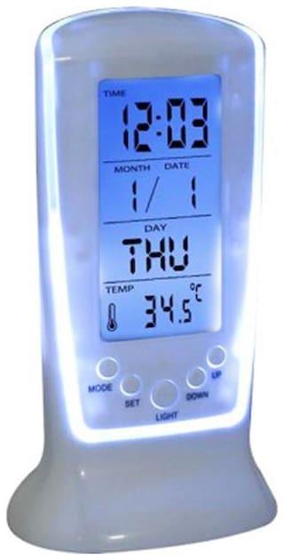 Tuelip Plastic Digital Table clock ( Set of 1 )
