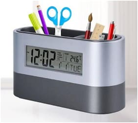 Tuelip Plastic Digital Table clock ( Set of 1 )