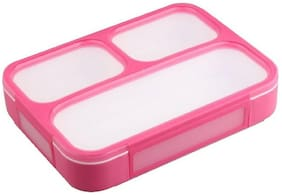 Tuelip Pink Lunch box ( Set of 1 , 500 ml )
