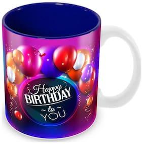 Tuelip  Happy Birthday To You Printed Mug Coffee & Tea