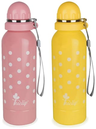 21716c95785 Buy Tuelip Stainless Steel Water Bottle For School Going Kids Girls ...