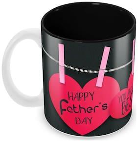 Tuelip Your are the BEST DAD Mug Classic Stylish Ceramic Printed Mug Tea And Coffee 350 ml