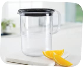 Tupperware Clear Table Jug 1.2l JB 1pc