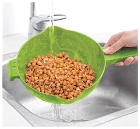 Tupperware Colander Handy Strainer