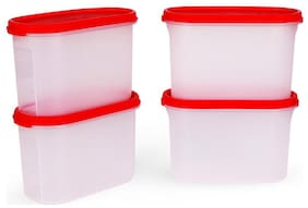 Tupperware Dry Storage Containers MM Oval 2 1.1L 4pcs
