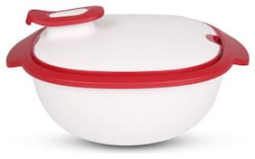 Tupperware New Thermo-Duo Warmie 2.25 Litres, White Serving Keeps Things Warm warmie tups