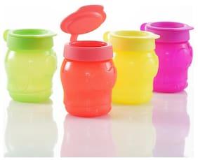 Tupperware Kids Snacks Cookies Cup Penguin 4Pc