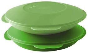 Tupperware Microwavable Divided Plate Set of 2