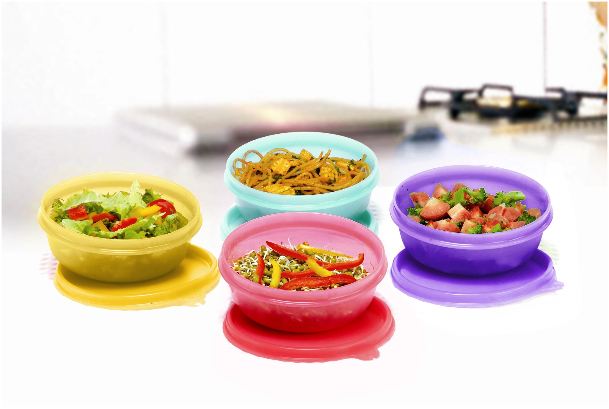 Tupperware Storing Serving Buddy Bowl 300ml 4pc