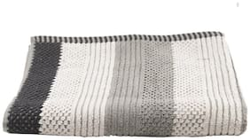 Turkish Bath Cotton 500 GSM Solid Bath Towel (Grey)