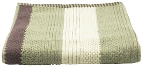 Turkish Bath Cotton 500 GSM Solid Bath Towel (Green)
