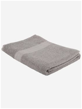 Turkish Bath Premium Cotton Solid Bath and Pool Towel-Grey