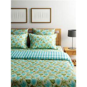 Turu Hand Quilted Quilt 5 Piece Set: Sea Breeze