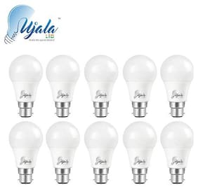 Ujala Led 12W High Beam Bulb - 120 Lumen/Watt, B22 Base (Aluminium), PC Diffuser, 2Year Warranty (Pack of 10)