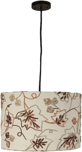 Ujjala Drum Pendant Fabric Lampshade with Fitting (#358)