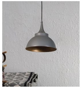 Ujjala Metal Modern Grey Ceiling lamps ( 1pc )