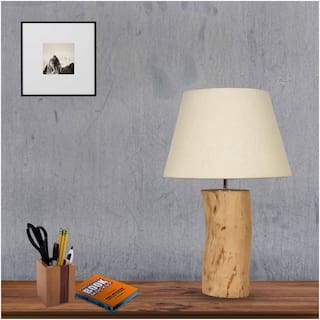Ujjala Wood Modern Multi Table lamp ( 1pc )