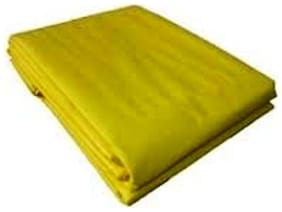 UltraTarp PE Tarpaulin (15 ft x 18 ft) - 200 GSM Yellow 100% Pure Virgin UV Treated