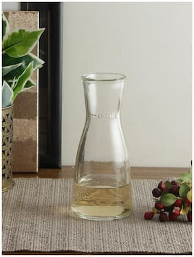 Uniglass Ossa pitcher, carafe, decanter  glass set 250ml of 2pcs, transparent