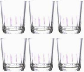 Dollar store 6 TEQUILA GLASSES SET