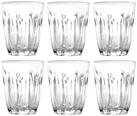 Dollar store 6 THAILAND CLEAR SHORT GLASSES