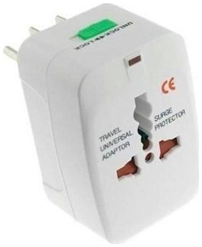 Universal Worldwide Adaptor   White