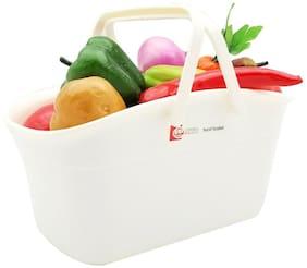 Uniware  Fruit and Vegetables Hand Basket , BPA Free