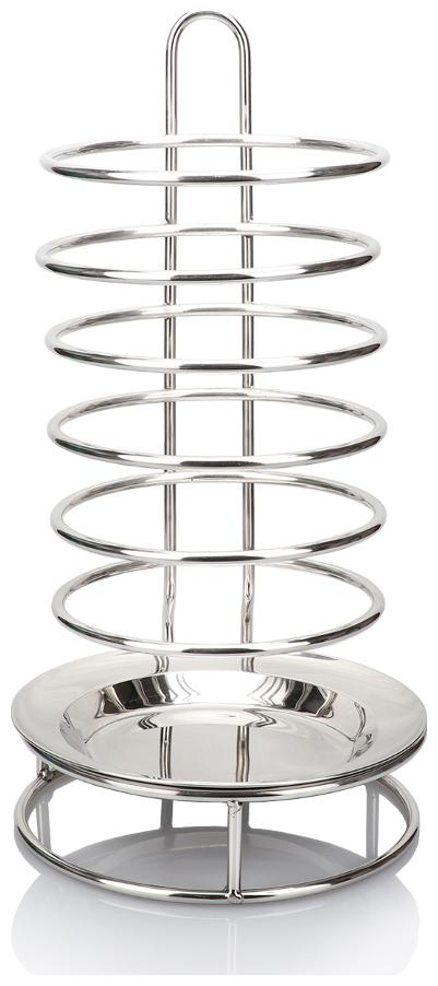Urban Snackers Fruit Stand;Dispenser Rack Display Stand;Stainless Steel;bar;Home;Serveware