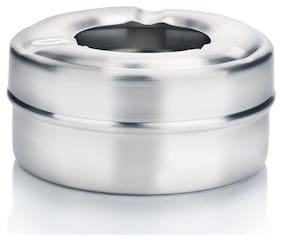 Urban Snacker Stainless Steel Table Top Ash Tray With Lid For Home;Office And Bar