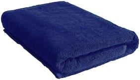 Urbano Homz 600 GSM Cotton Bath Towel ( Pack of 1 , Blue )