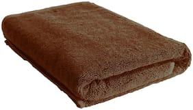 Urbano Homz 600 GSM Cotton Bath Towel ( Pack of 1 , Brown )