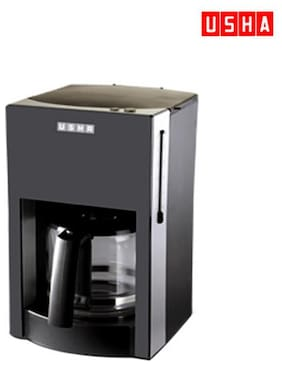 USHA 3230 6 Cups Coffee Maker (Black)